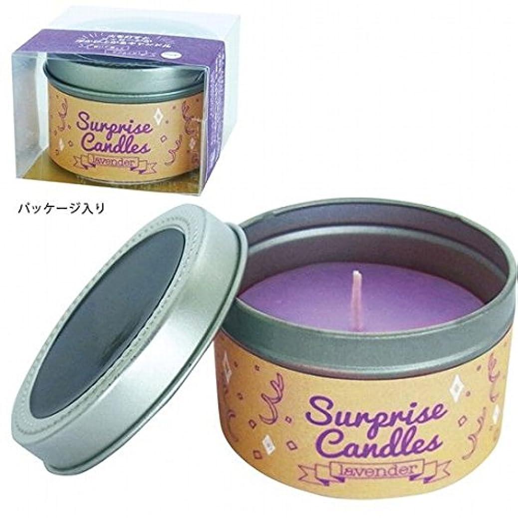 ドリルリサイクルするそこカメヤマキャンドル(kameyama candle) サプライズキャンドル 「ラベンダー」