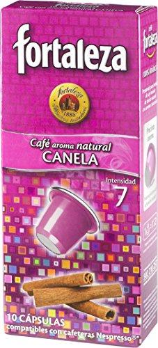 Nespresso compatible - Café Fortaleza Aroma Canela - 10 cá