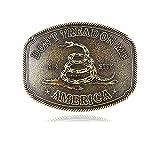 QQA Vintage Celtic Knot Belt Buckle for Men Simple Cowboy Belt Buckle (36)