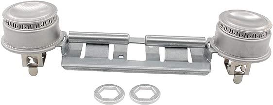 ApplianPar WB16K10026 Double Burner Assembly Kit for GE Kenmore Replaces AP2633210 WB29K17 WB16K10003