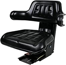TRACTOR BLACK For Massey Ferguson Part# 1694519M91 SEAT