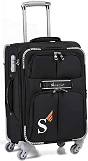 Senator Softshell Carry-On Luggage - Expandable 20 Inches Small Suitcase Ultra Lightweight Cabin Size Luggage Carry on Wit...