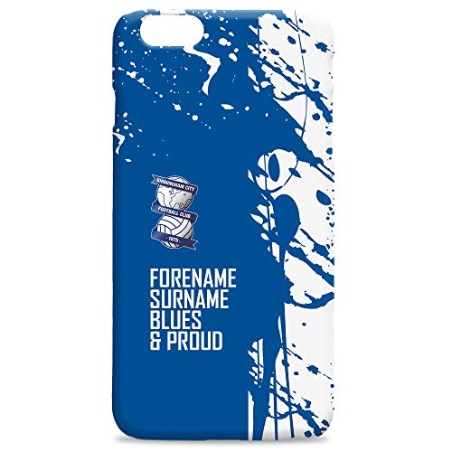 Official PERSONALISED Birmingham City Football Proud Hard Back Phone Case Iphone & Samsung Compatible