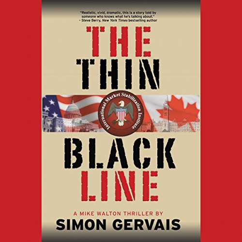The Thin Black Line audiobook cover art