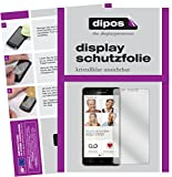 dipos I 2X Schutzfolie klar kompatibel mit Emporia SMART.2 Folie Bildschirmschutzfolie