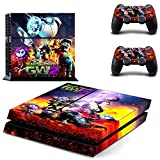 TAOSENG Plants Vs Zombies Style Ps4 Skin Sticker para Playstation 4 Consola y 2 Controladores Calcomanía Vinilos Protectores
