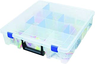 Flambeau Outdoors 9007 Tuff Tainer - 19 Compartments - Double Deep - Half Bulk  (Includes (12) Zerust Dividers)