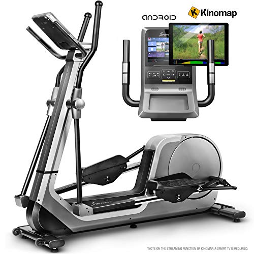Sportstech LCX800 Cross Trainer with noble Android Multifunction Console, 24kg...
