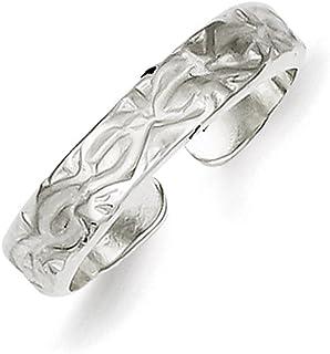 Lex & Lu Sterling Silver Toe Ring LAL22741