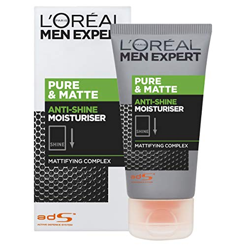 L'Oreal Men Expert Pure & Matte Anti-Shine Gel Moisturiser 50ml