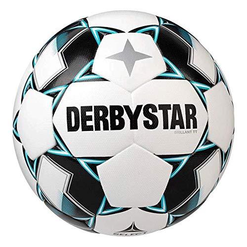 Derbystar Erwachsene Brillant TT, 1133500142 Fußball, Weiss Gruen schwarz, 5