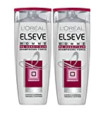 L'Oréal Paris Elsève Shampooing Homme Re-densifieur Cheveux Fins - 250 ml - Lot de 2