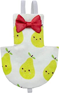 Flameer Bird Parrot Diaper Pear Pattern, Flight Suit Nappy Clothes for Conure Parakeet Cockatiels Pigeons and Other Similar Size Birds
