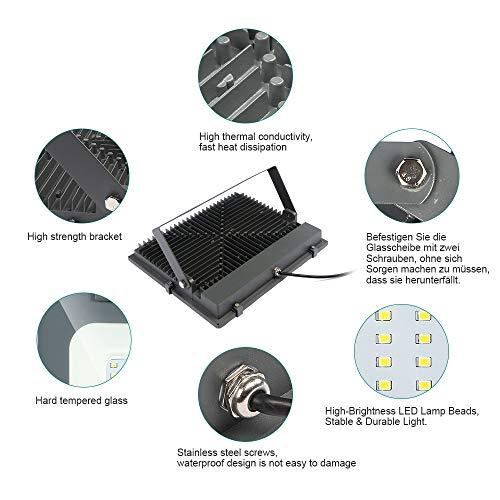 LED Foco exterior alto brillo Proyector led exterior de ...