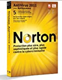 Norton antivirus 2011 (5 postes, 1 an) -