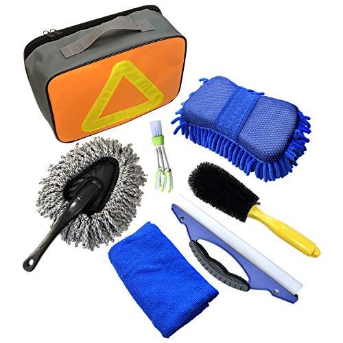 Kit de lavado de autos de 7 PCS, herramientas de limpieza de