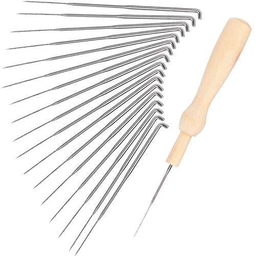 Needle Felting Supplies 3 Sizes Felting Needles 3.58//3.39//3.07 inch 30 Pcs Needle Felting Kit Wool Felting Supplies Needle Felting Tool Wool Felting Needles Tool