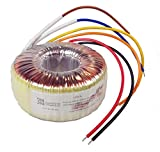 VIGORTRONIX 120 VA Trasformatore toroidale di rete 0-230 V : 2 x 15 V - VTX-146-120-115