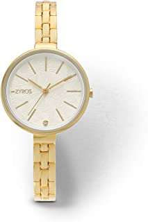 Zyros Dress Watch for Women, Quartz, ZAA050L010111