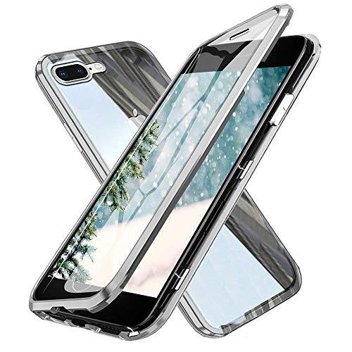 Funda iPhone 7 Plus/8 Plus,360 GradosFrente y Parte Posterior Cuerpo Completo Protección...
