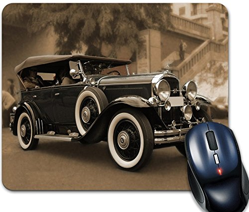 Alfombrilla de ratón, coche antigua, marca Dakota