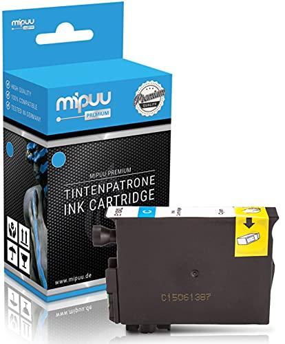 Mipuu Tinta compatible con Epson 18XL C13T18124010 (azul) para Epson Expression Home XP-102 XP-202 XP-205 XP-212 XP-215 XP-225 XP-30 XP-305 XP-412