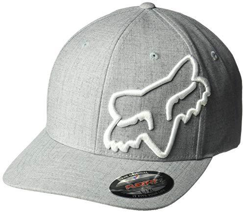 Fox Herren Clouded Flexfit Baseball Cap, Stahlgrau, Small/Medium