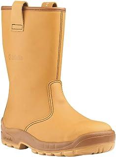 Bottes de sécurité JALARTIC SAS cuir FOURREES beige - J0257 - 44
