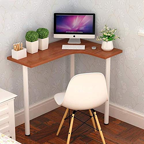 Desks DD Hout Kleur Bijzettafel Voor Woonkamer, Kleine Koffie Tafel, Nieren Bean Vorm W/ 3 Benen, Retro Design, Vintage -Werkbank