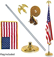 EasyGoProducts EGP-POLE-006 3' X 5' American Flag w/Indoor Pole Kit