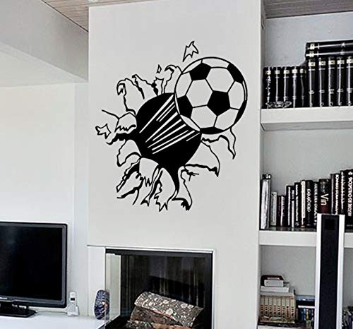 kdjshhs Wandaufkleber Kreative Dekoration 3D Fußball Eine Generation Wandaufkleber Kinderzimmer Dekoration Aufkleber Muraux Für Kinderzimmer Autocollant Wandbild