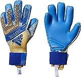 adidas Predator Pro, Guante de Portero, Gold Metallic-Football Blue, Talla 10