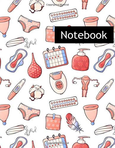 Feminine Hygiene : College Ruled Notebook & 2020 Planner: Lined notebook Gift, 120 Pages, 8.5x11, Soft Cover, Matte Finish