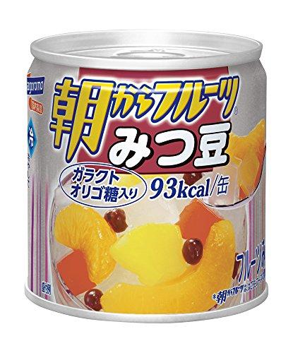 はごろも 朝からフルーツ みつ豆 EO缶190g [0987]