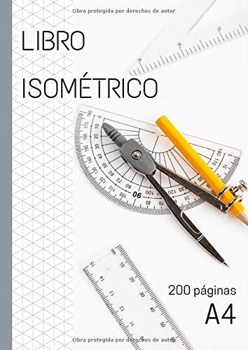 Libro isométrico: cuaderno isometrico - 200 páginas - A4 8,27 po x 11,69 po