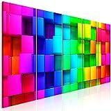 murando Cuadro Acústico 3D Efecto 200x80 cm XXL Impresión Artística 5 Piezas...