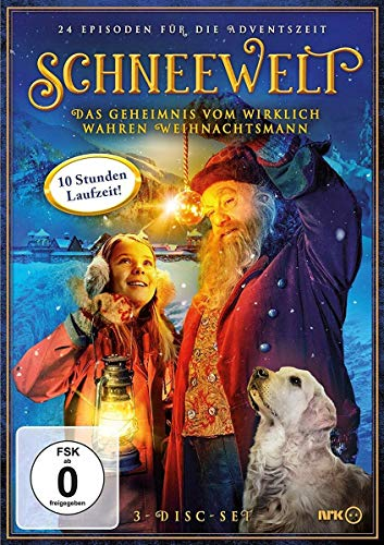 Das Geheimnis vom wirklich wahren Weihnachtsmann (3 DVDs)