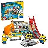 LEGO 75546 Minions El Origen de GRU, Minions en el Laboratorio de GRU, Juguete de Construccin para Nios +4 aos con Mini Figuras