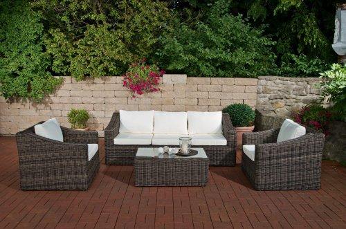 CLP BEMALDA - Conjunto de muebles de jardín de polirratán (5 mm,...