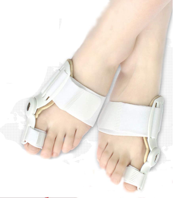 Big Toe Valgus Toe Orthotics Big Feet Bone Foot Valgus Hallux Valgus Correction Belt Day And Night With Bearing redation 24H Hallux Valgus Correction Device,Pair