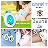 Adyo Careit Guard Infant's Mosquito Repellent Badge for Outdoor and Indoor Protection (Multicolour)