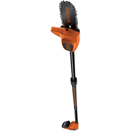 Decker 32135 Forbice per potatura Nero//Arancione Black 20 cm colore Multicolore