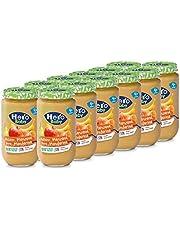 Hero Baby - Tarrito de Plátano, Manzana, Pera y Mandarina, Ingredientes Naturales, para Bebés a Partir de los 4 Meses - Pack de 12 x 235 g
