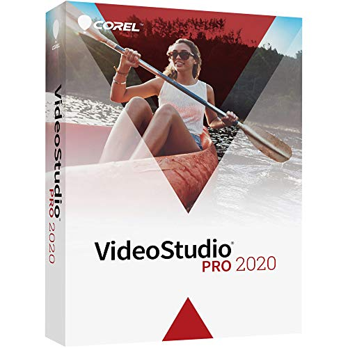 Corel VideoStudio 2020 Pro | Video Editing Suite [PC Disc]