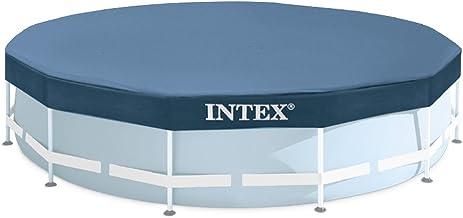 Intex 28032 - Cobertor piscina metálica Metal & Prisma Frame 457 cm