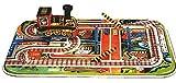 Juguete Decorativo de Hojalata Circuito Tren Paso A Nivel  Carruseles y Circuitos de Cuerda. Juguetes y Juegos de Colección. Regalos Originales. Decoración Clásica.