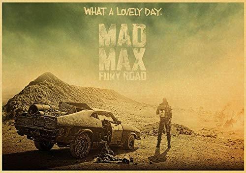 HuGuan Leinwand Bilder Kunst 60x90cm Mad Max Tom Hardy Charlize Theron Film Wohnkultur T3 Malerei Poster Druckt Gedruckte Kein Rahmen