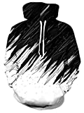 NEWISTAR Herren 3D Druck Kapuzenpullover Cartoon Sweatshirt Langarm Hoodie Small