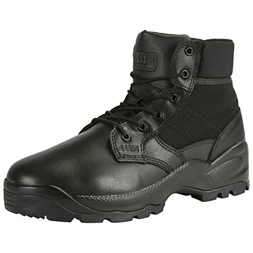 '5.11 Speed 2.0 8 Botas con Side Zip Negro, Color Negro, Talla 39 EU