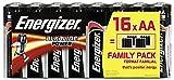 ENERGIZER-Lote de 12 paquetes de 16 pilas AA/LR6 Family Pack Classic
